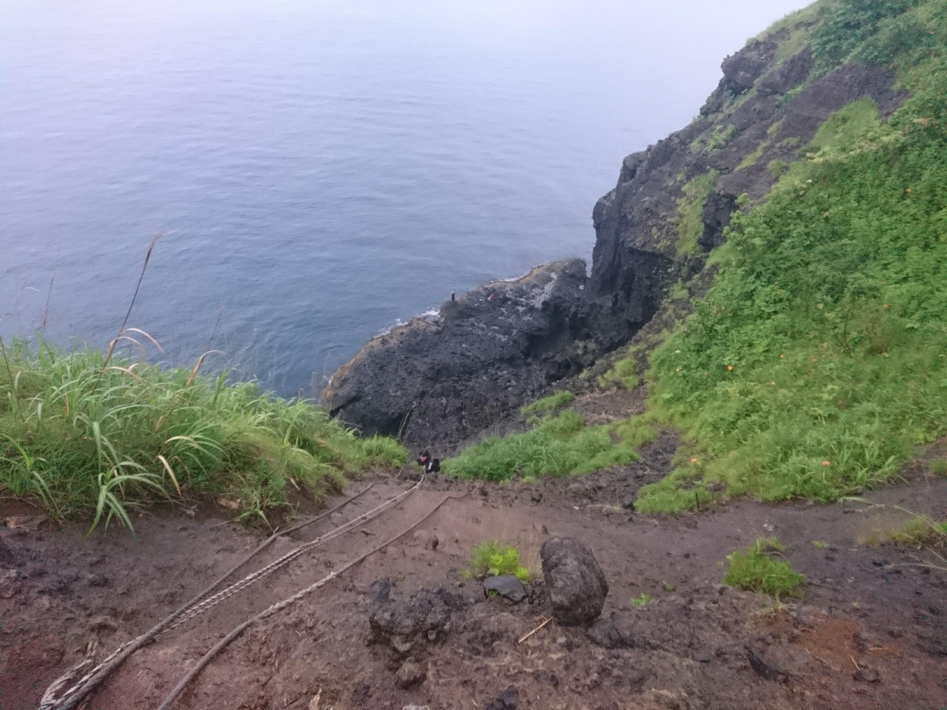 2017/6/25 積丹で崖下り!「竜ヶ岬」に行ってみた。