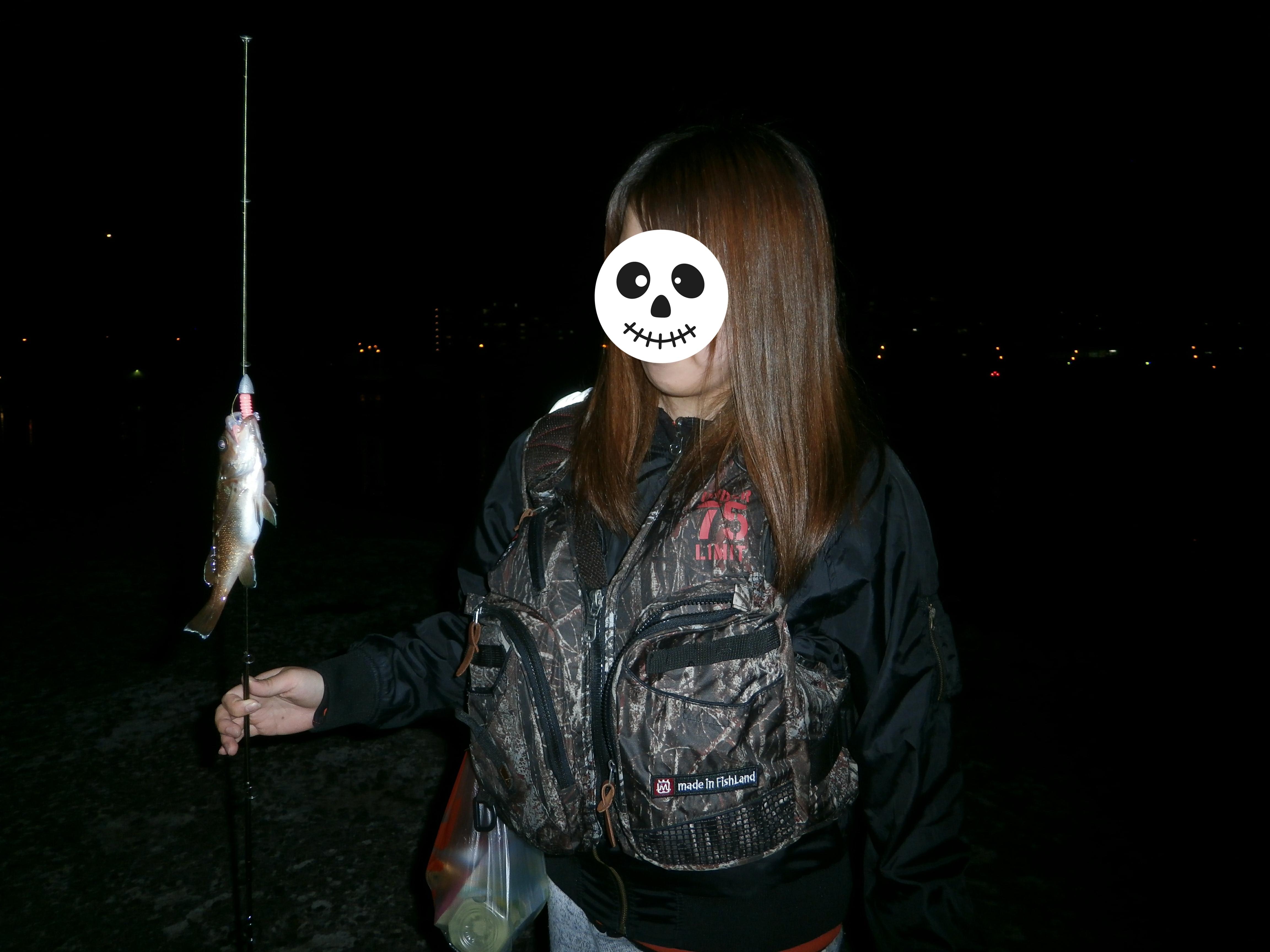 2017/6/13~14 小樽で彼女に初めて釣りさせたらチビガヤいっぱい釣りだした…