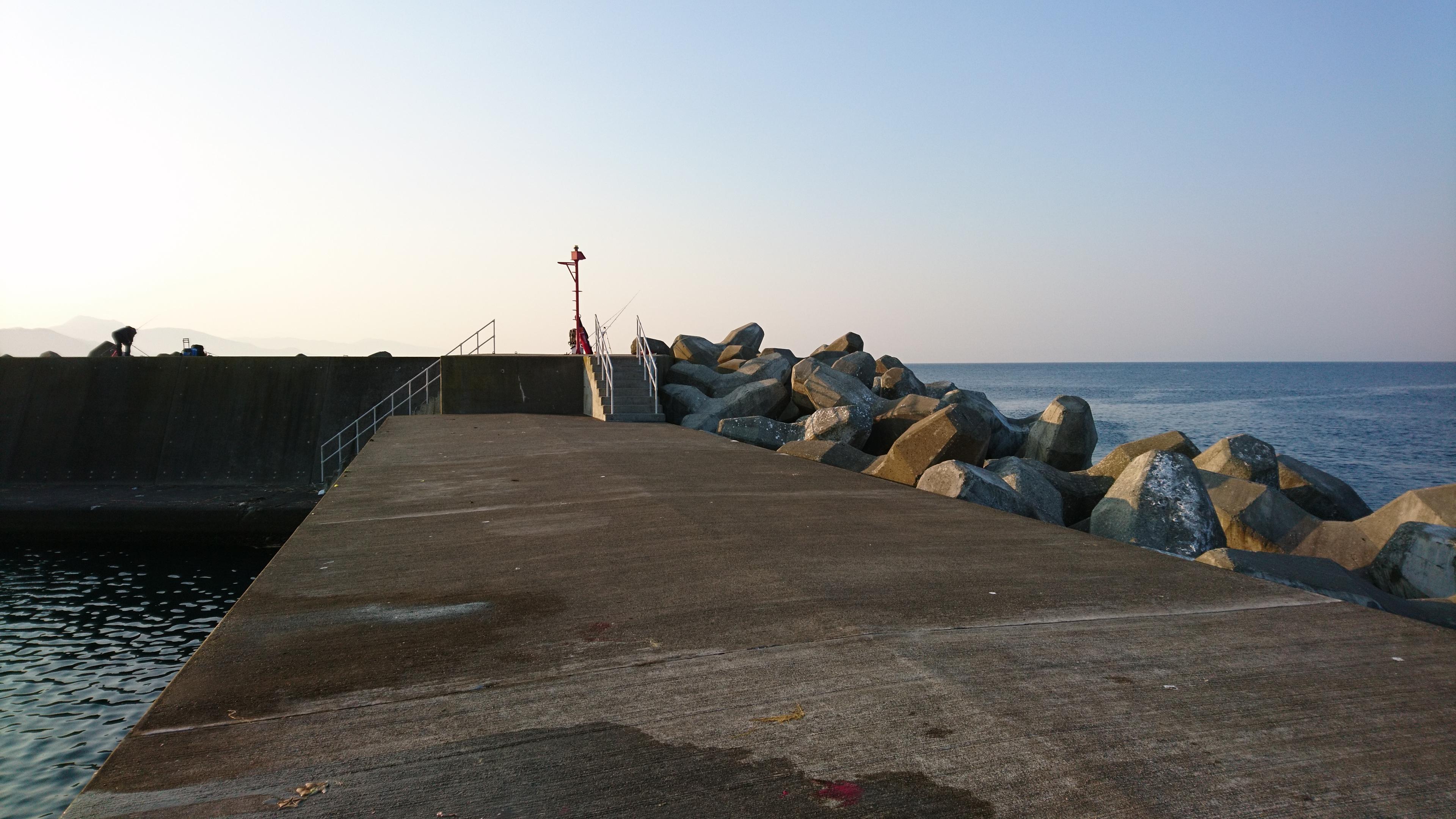 噴火湾 豊浦町 大岸漁港についての釣り情報