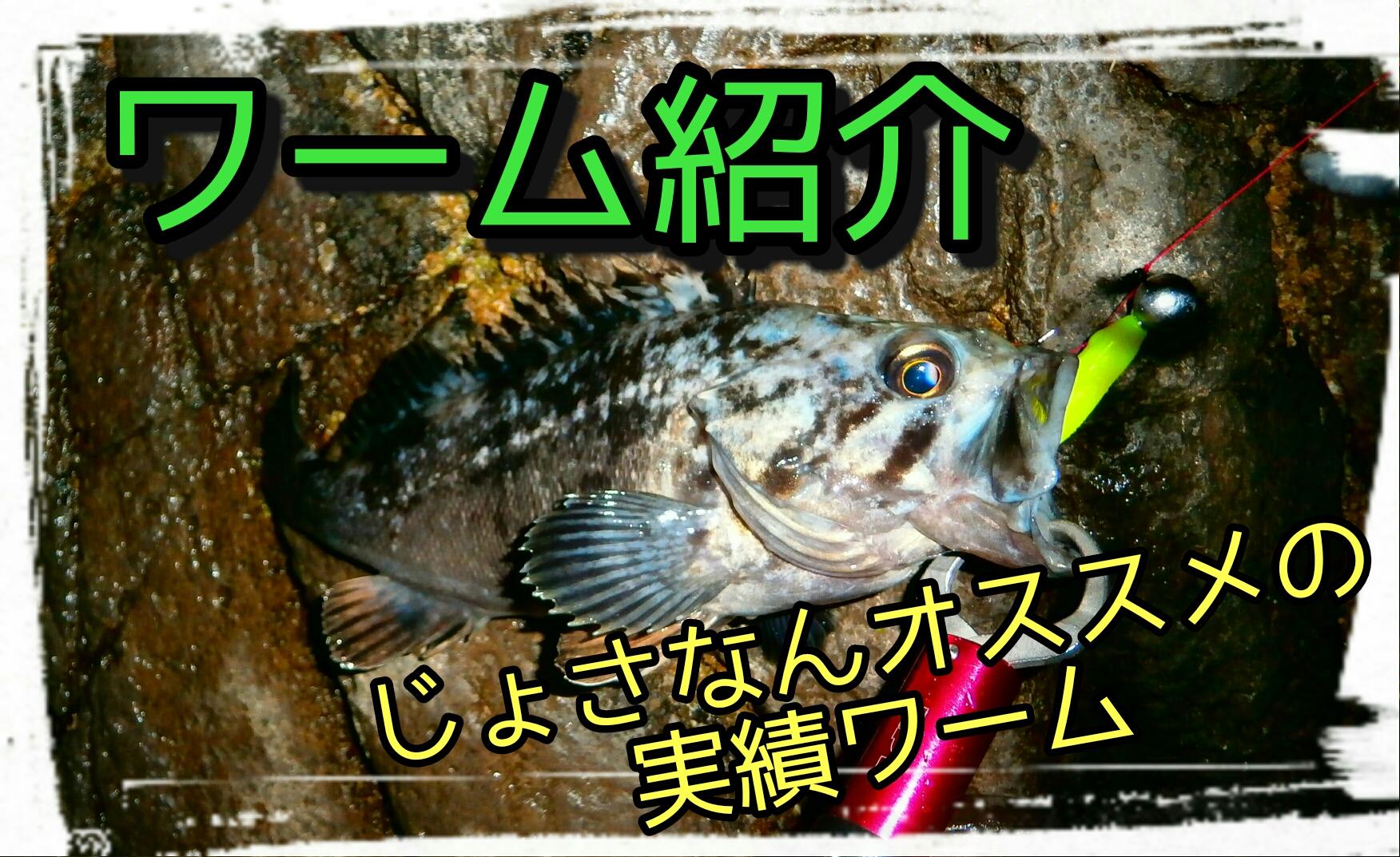 2017年に北海道で釣れた実績ワームを紹介します。【ロックフィッシング】